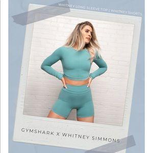 Gymshark x Whitney Simmons Long Sleeve Crop Top